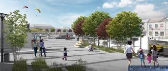 Wizualizacja. fot. Urząd Miasta Leżajska