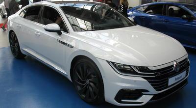 Volkswagen Arteon na stoisku