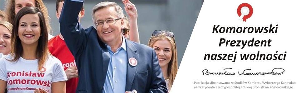 Bronisaw Komorowski - kandydat na Prezydenta RP