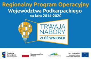 Regionalny Program Operacyjny Województwa Podkarpackiego 2014-2020