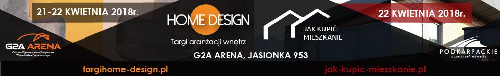 Home Design - targi wyposażenia wnętrz w G2A Arena