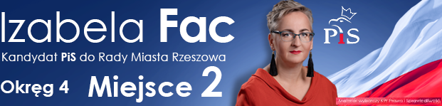 Izabela Fac - kandydat do Rady Miasta Rzeszowa