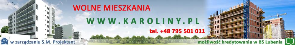 Wolne mieszkania. Osiedle Karoliny.pl w Rzeszowie