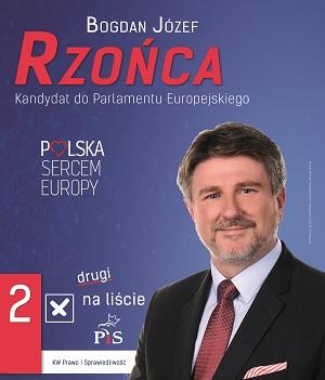 Bogdan Rzońca - kandydat do Parlamentu Europejskiego