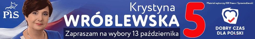 Krystyna Wróblewska - kandydat do Sejmu RP
