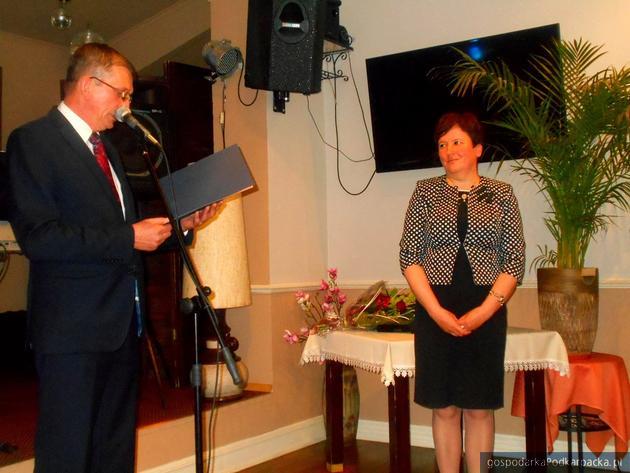 Zbigniew Tymuła i Renata Lazur. Fot. Archiwum