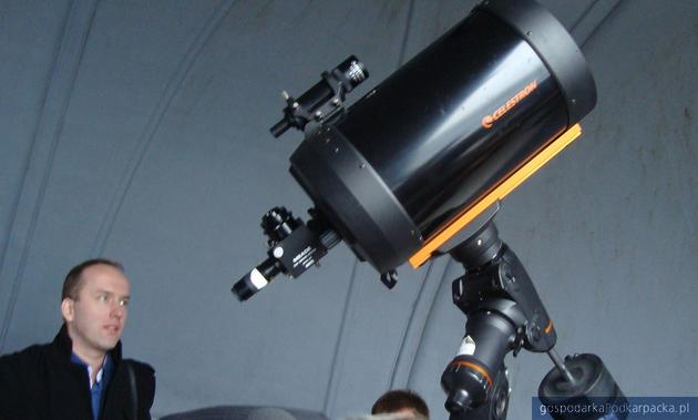 Teleskop w Jaśle. Fot. Dorota Zańko