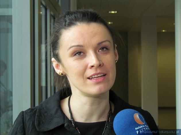 Inese Sulzanoka, radca handlowy Ambasady Łotwy w Polsce. Fot. Adam Cyło