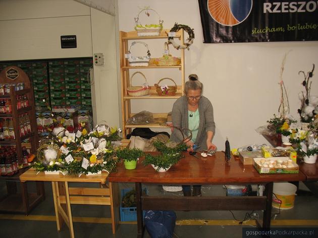 Pokaz florystyczny Anny Cieszyńskiej