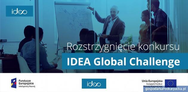 Rozstrzygnięcie konkursu Idea Global Challenge