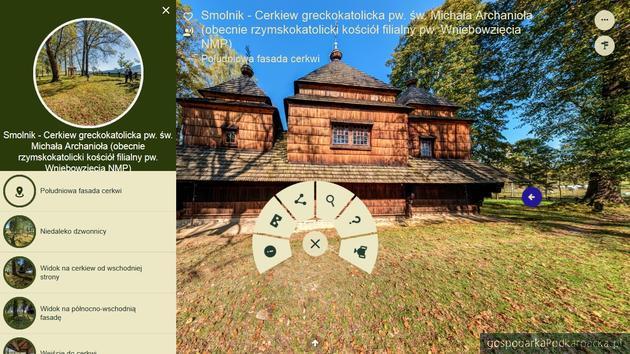 Zabytki UNESCO z Karpat na wirtualnych panoramach