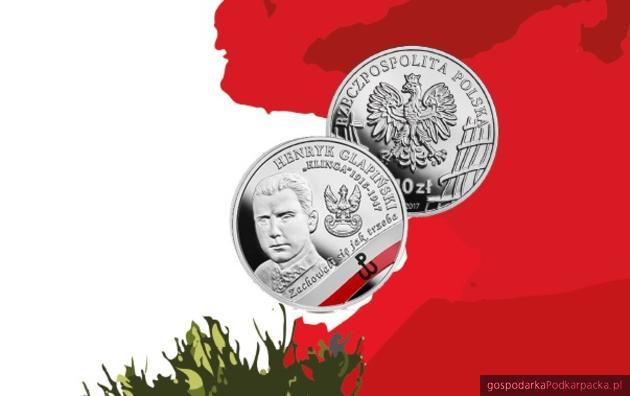 """Henryk Glapiński """"Klinga"""" na monecie NBP"""
