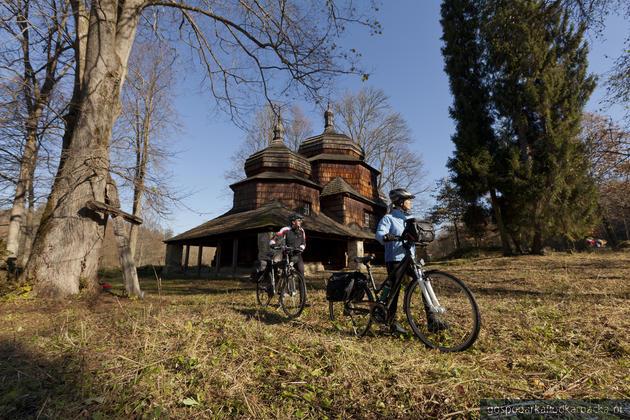 Cerkiew w Piątkowej na szlaku Green Velo. Fot. K. Pęczalski