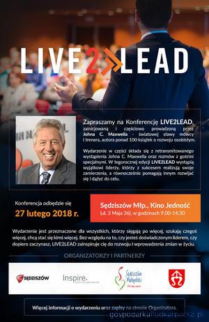 Live2Lead - międzynarodowa konferencja szkoleniowa w  Sędziszowie Małopolskim