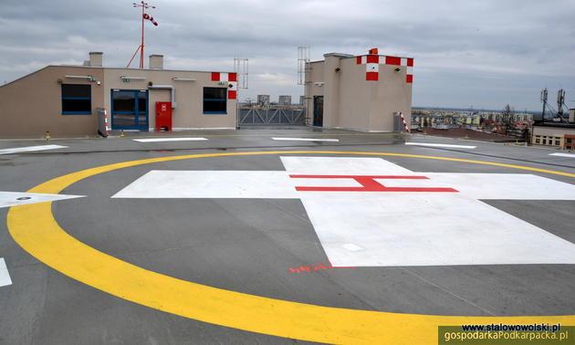 Lądowisko na dachu szpitala w Stalowej Woli już otwarte