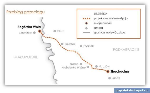 Gazociąg Strachocina-Pogórska Wola: jest pozytywna decyzja Komisji Europejskiej