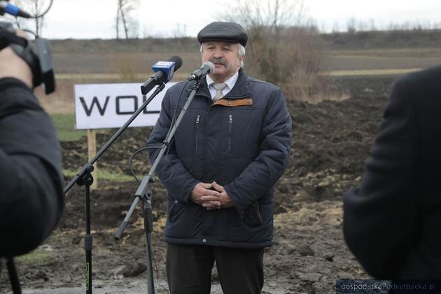 Franciszek Kosiorowski, wiceprezes Miejskiego Przedsiębiorstwa Dróg i Mostów, firmy która buduje nowy łącznik. Fot. Monika Konopka