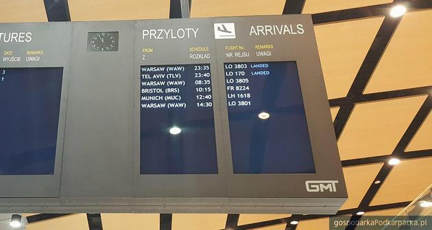 Pierwszy lot na trasie Tel Awiw-Rzeszów-Tel Awiw