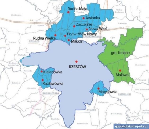 Wojewoda wydała opinie o rozszerzeniu Rzeszowa