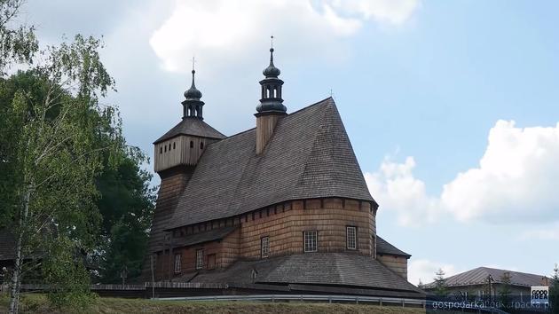 Drewniane świątynie z Podkarpacia promowane przez znanego youtubera