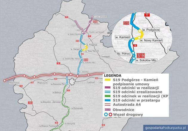 Umowa na budowę S19 Via Carpatia Podgórze - Kamień podpisana