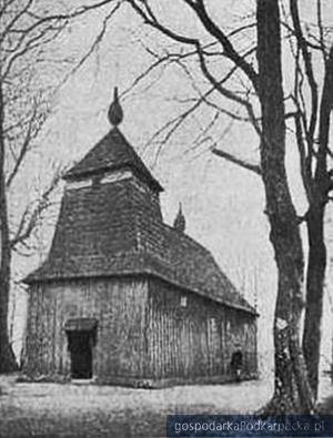 Oparówka, parafialna cerkiew greckokatolicka Narodzenia Matki Bożej, zb.M. Szukały
