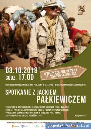 Spotkanie z Jackiem Pałkiewiczem w Rzeszowie