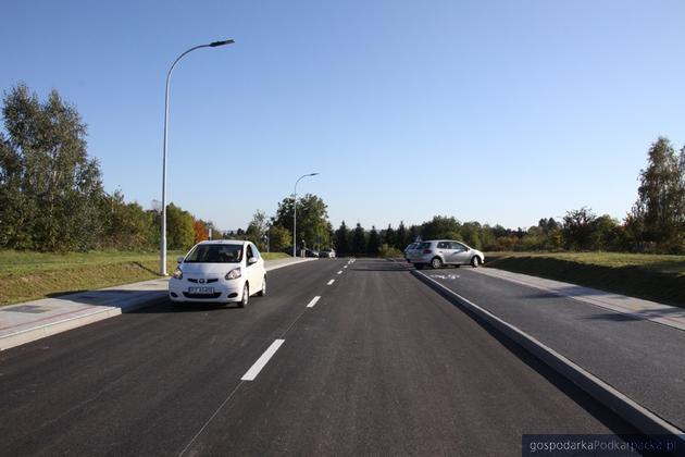 Otwarcie rozbudowanej ulicy Panoramicznej w Rzeszowie