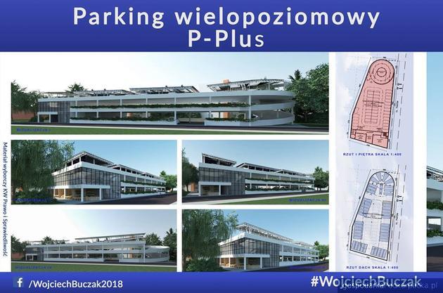 """""""Parkingi Plus"""" - kolejny pomysł Wojciecha Buczaka"""