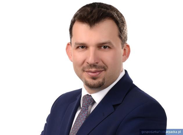 Marek Nowa, dyrektor regionalny LFR oddział w Rzeszowie