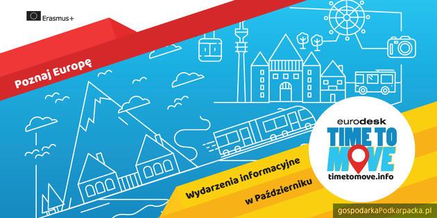 Konkurs na temat Unii Europejskiej w rzeszowskiej odsłonie kampanii Time to Move