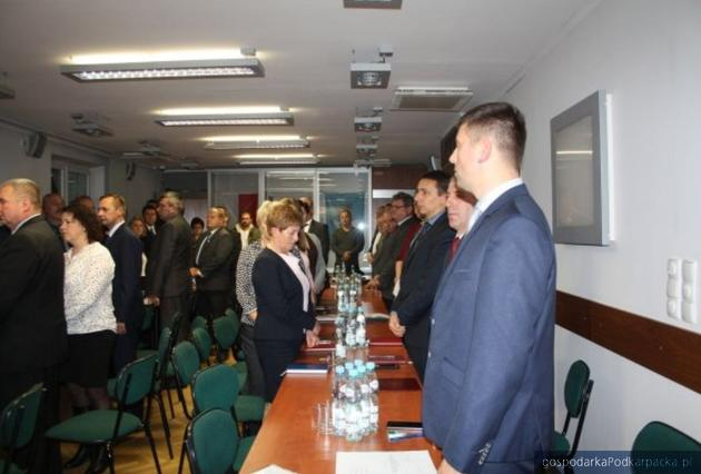 Pierwsza sesja w gminie Łańcut
