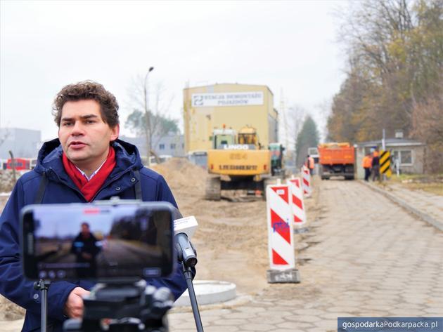 Rozpoczęła się budowa łącznika ul. Solidarności z ul. COP  w Stalowej Woli