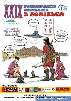 XXIX Podkarpackie Spotkania z Komiksem w Rzeszowie