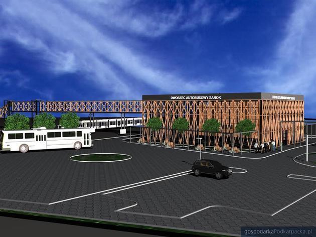 Nowy dworzec w Sanoku z lekkim opóźnieniem