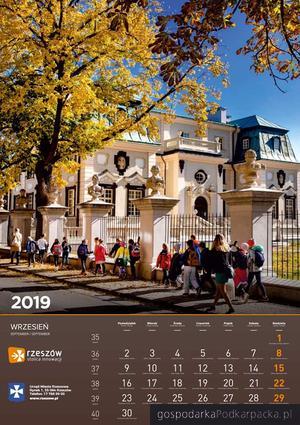 Kalendarz miasta Rzeszowa na 2019 r.