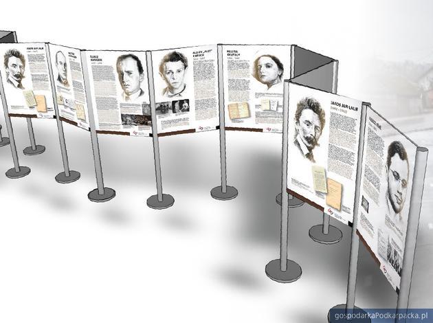 Wystawa o sławnych Żydach związanych z Podkarpaciem na lotnisku Jasionka
