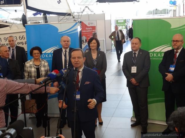 Otwarcia tarów dokonał marszałek Władysław Ortyl