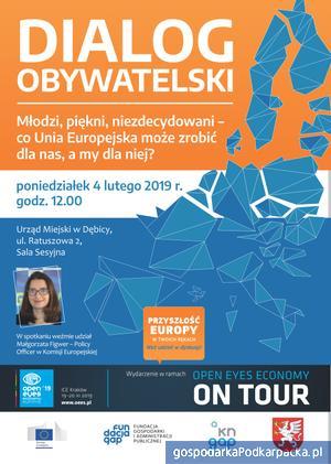 """Spotkanie """"Dialog Obywatelski"""" w Dębicy"""