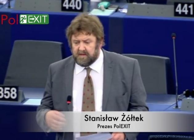 Stanisław Żołtek (Partia PolExit) będzie w Rzeszowie