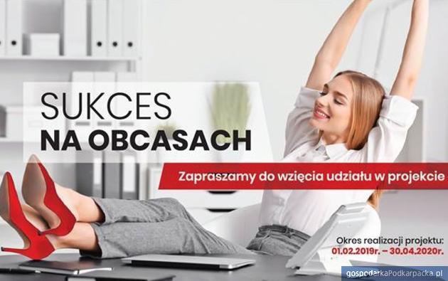 """Bezpłatne szkolenia i płatne staże - projekt""""Sukces na obcasach"""""""