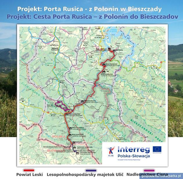 Porta Rusica - historyczny trakt handlowy będzie trasą turystyczną