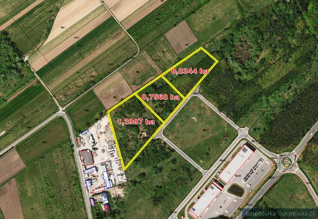 Działki na sprzedaż w Tarnobrzeskim Parku Przemysłowo-Technologicznym