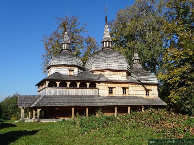 Koniec rekonstrukcji cerkwi w miejscowości Nowe Brusno, fot. Janusz Mazur