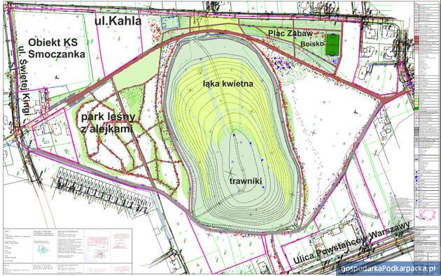Nowy park w Mielcu jeszcze w tym roku