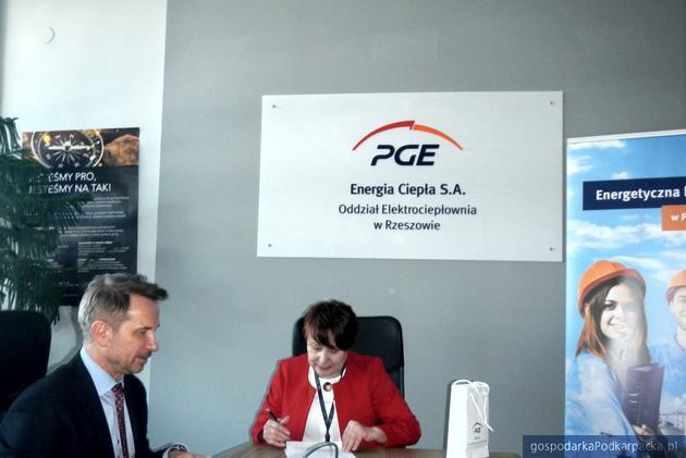 Porozumienie Elektrociepłowni z Zespołem Szkół Energetycznych