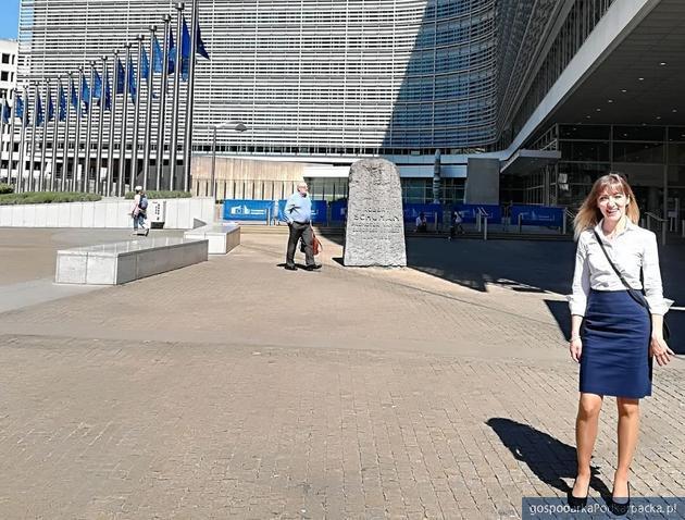 Ewelina Nycz w Brukseli