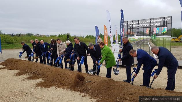 Rozpoczęła się budowa obwodnicy Stalowej Woli i Niska
