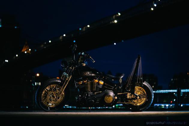 Harley-Davidson zrobiony w Rzeszowie jest zaprezentowany w Nowym Jorku