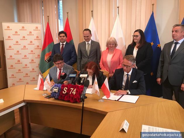 Umowa na dokumentacje dla ekspresowej S74 Opatów – Nisko podpisana